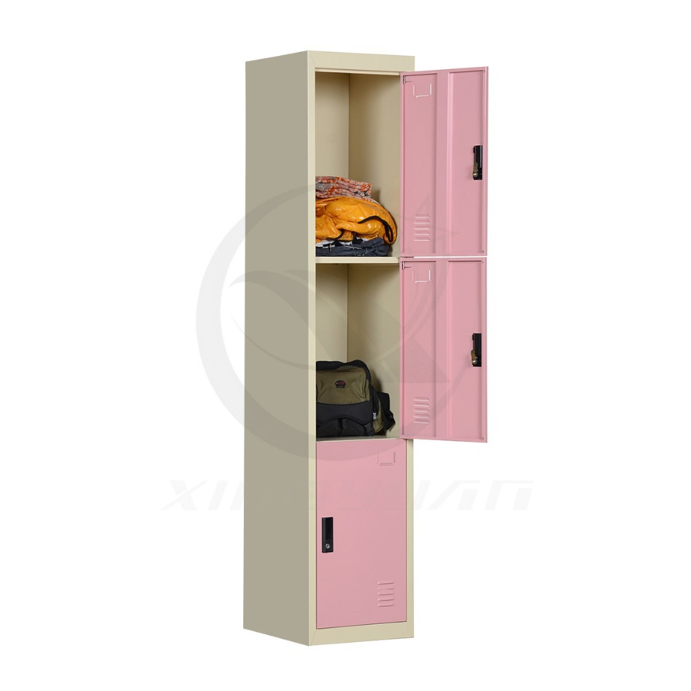 Enviromental Low Price assemble 3door small metal sports locker