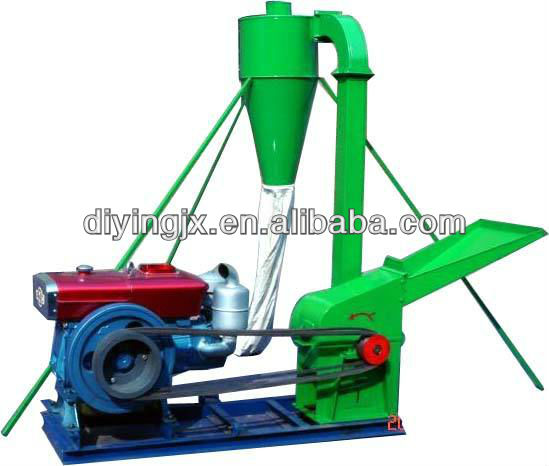 Diesel engine Maiz flour grinder mill for feed making