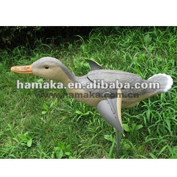 Simulation Flying Femail Duck-wind Powered Hunting Duck Decoy Molds