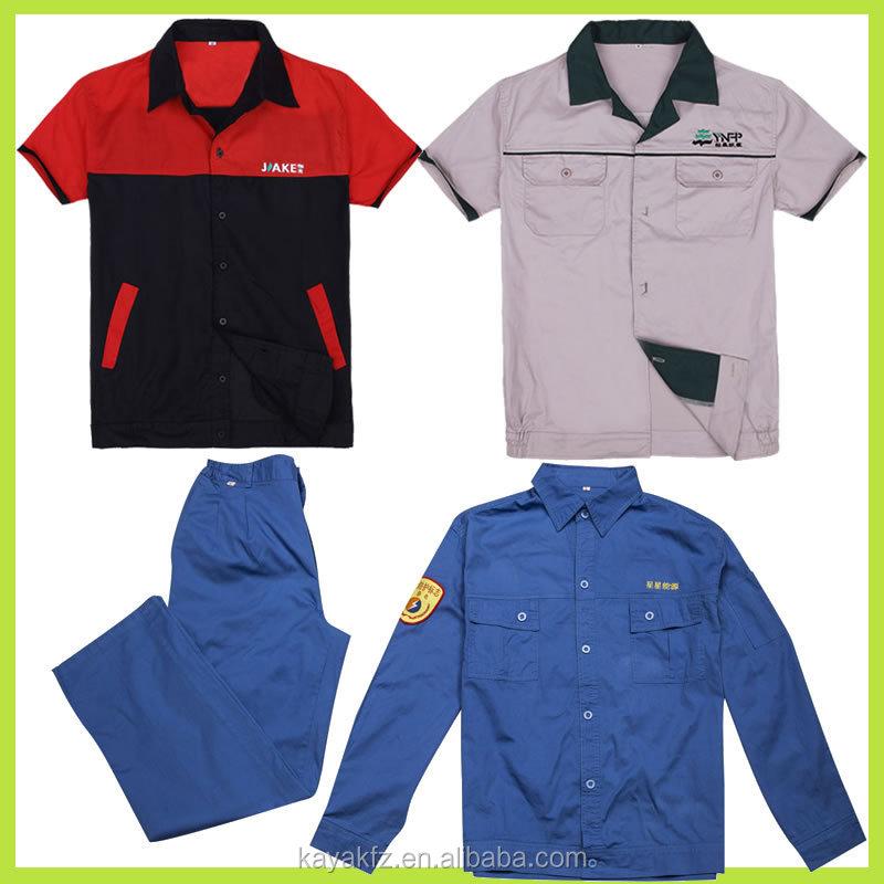 Cutsom made hi vis navy blue reflective tape shirt for Work uniform polo shirts