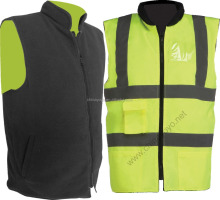 Reflective Waistcoat with 3M Reflective Tape