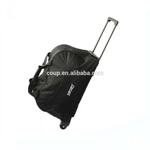 Oem Brand Fancy Large Wheeled Sports Bag Polo Ladies Travel Trolley Luggage Bag