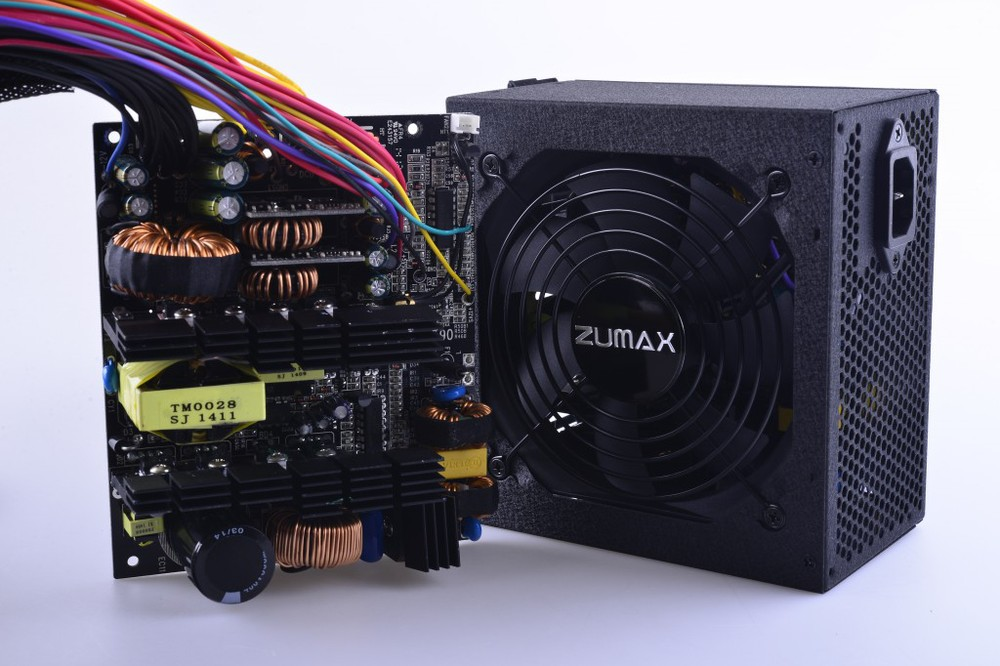 ATX ZUH400 Active PFC 87 Plus Gold Computer Power Supply 400W 12v ...