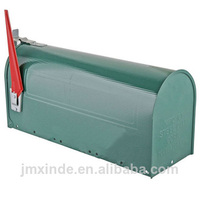 Chinese manufacturer tin mail box craft metal mailbox
