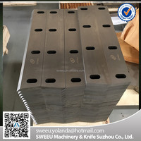 Blades for plastic crusher machine