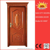 2014 new design cardboard honeycomb door