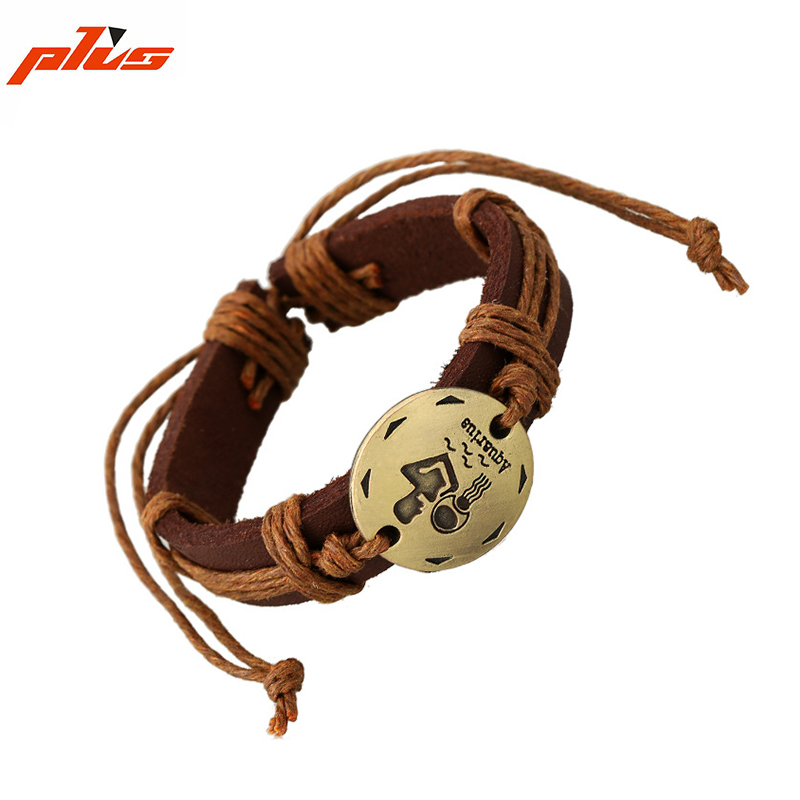 New Products Different Types Personalized Bohemian Leather Bracelet