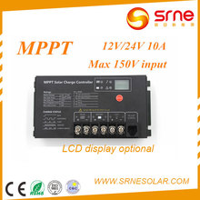 SRNE MPPT Charger 10A MPPT Solar Charge Controller Regulator for Solar Home System Controller SR-MT2410A