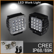 80w led working light with 16 CREE Chips working light with magnet