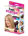 TV Product Hot Stamps Hair Glitter Add Flair to Your Hair Stamping Styles Hair Color DIY