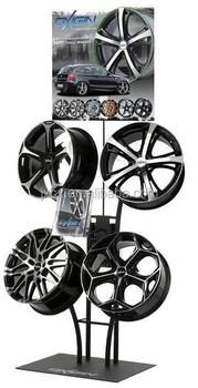 Alloy Wheels Display Stand Buy Rim Display Rack Wheel
