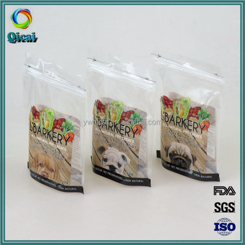 New design best price customized printed dog food stand up pouch with zipper