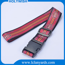 Hot selling multicolored elastic fasten luggage strap for travel suitcase