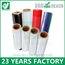 Soft Hardness and Moisture Proof Feature LLDPE stretch film roll
