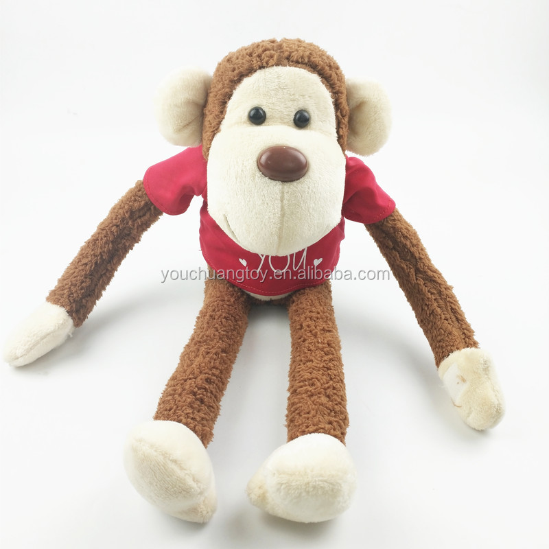 Custom forest animal toy stuffed monkey plush toy
