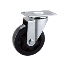 3 inch PU Caster Wheels For Industrial Trolley