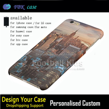 For ip Telephone Manufacturer Wholesale Custom Cheap 3D plastic PC Hard Mobile Phone Cases For Iphone 6 And 6s