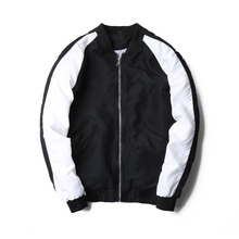 boy fashion zipper casual club city mens jacket