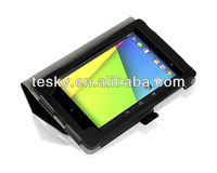 NEW HARD PROTECTIVE LEATHER CASE BACK COVER FOR GOOGLE NEXUS 7 II