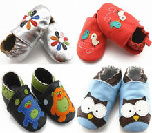 Animal Soft Sole Baby Leather Shoes