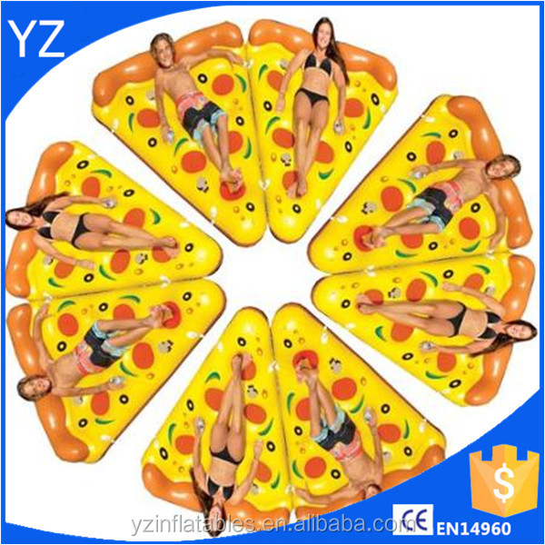 HOT! Inflatable Pizza Float pool float for sale