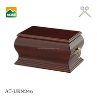 good quality cremation pet wooden urns factory