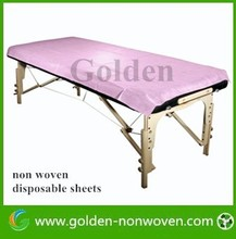 disposable bed covers use nonwoven pp cloth material