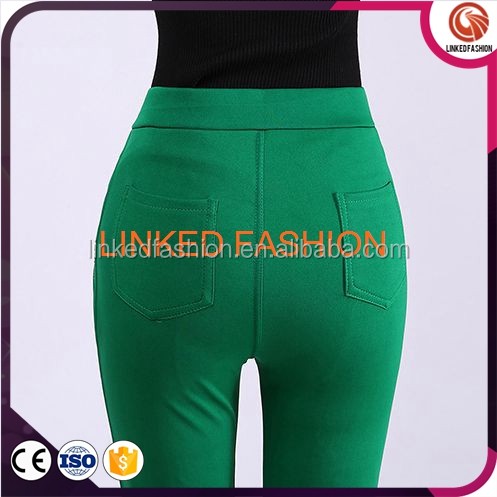 Thermal THICK Solid Winter Warm Brushed Stretch Leggings