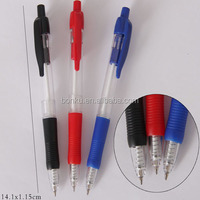 grip click Cheap rubber retractable gel ink roller pen