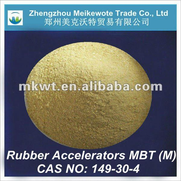 bulk pool chemicals rubber accelerator mbt (CAS No.:149-30-4)