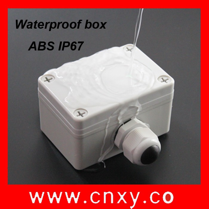 IP67 ABS waterproof plastic box /junction box/electronics enclosure