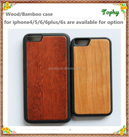 2015 cheap TPU+wood mobile phone case for iphone6s 6plus, for samsung for sony for lg wooden phone cover