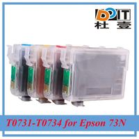 High quality 73N refilled ink cartridge for Epson C90 with ARC chip