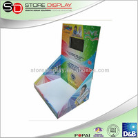 mouse/keyboard/battery charger cardboard Display, PDQ displays, free floor display stand, counter lcd display