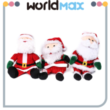 New Arrival Soft Cartoon Plush Toy santa claus