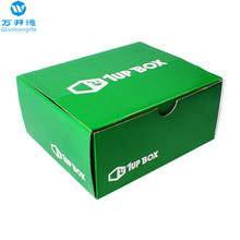 Logo Printed Cheap Folding Shoe Box Cardboard