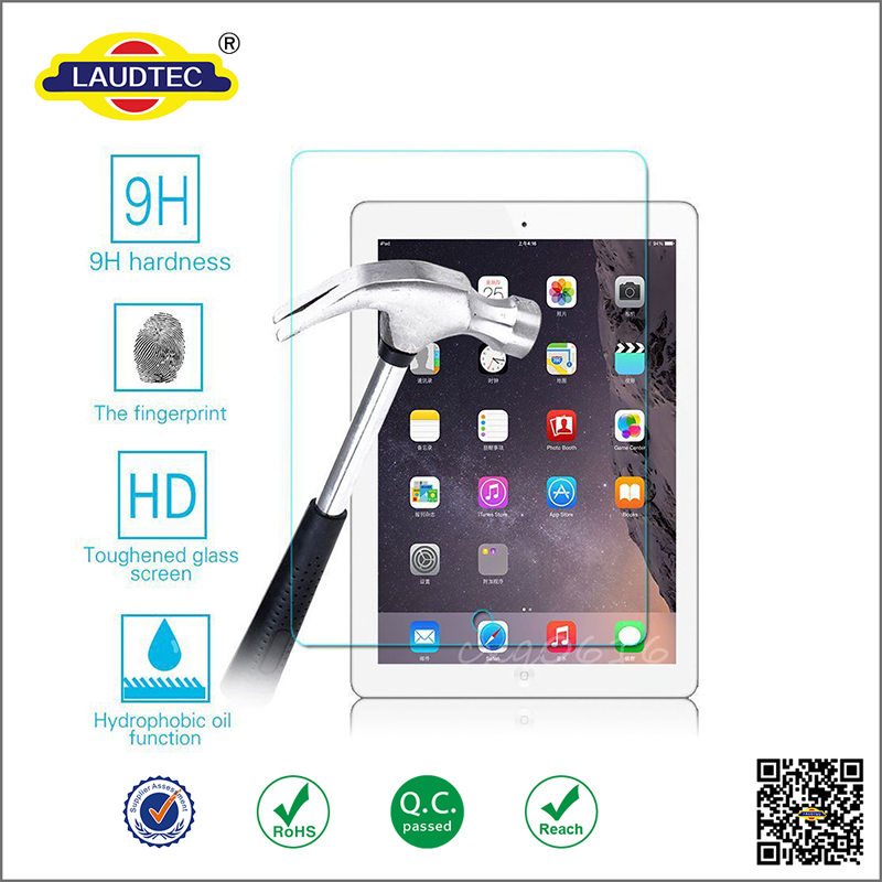 100% Genuine Tempered Glass Film Screen Protector for iPad Pro