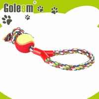 Top Quality New Style Dog Puppy Chew Toy With Ball