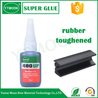 YTMOON MN480 quick rubber toughened eyelash extension glue
