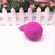 Amazon Popular Skin Care Massage Washing Silicone Face Cleansing Brush Softness