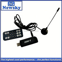 Digital isdb-t external tv tuner for lcd monitor support FM/DAB function