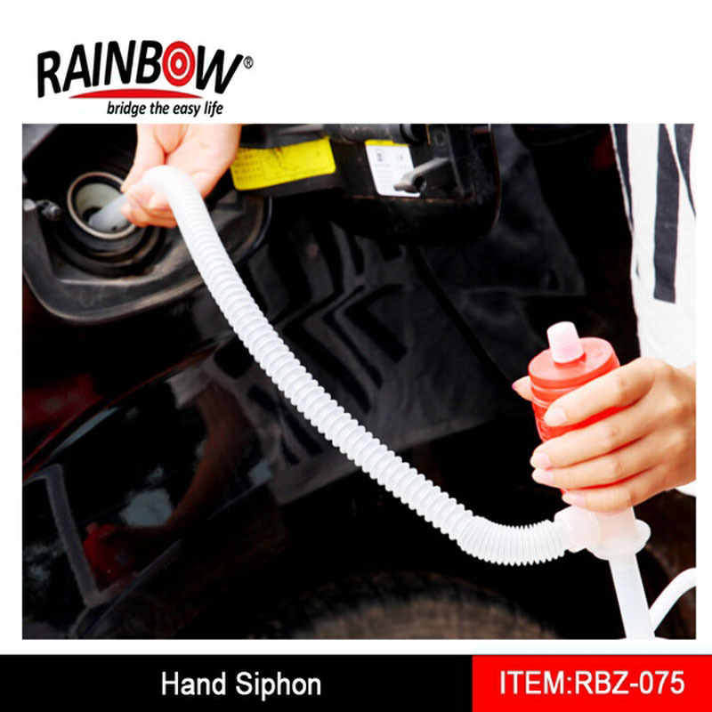 Portable Siphon Hose Liquid Gas Oil Water Transfer Hand Pump Sucker Pump Factory