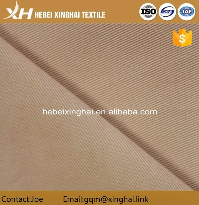 Uniform fabric T/C 65/35 21x21 108x58 58' dyed fabric