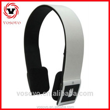 2015 in HK Fair V4.0 bluetooth stereo headphone wireless headphone player mp3