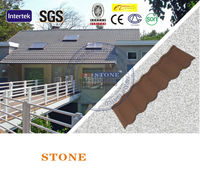High quality Sand Coated Metal Roofing Price