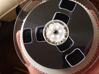 Film reel from vhs