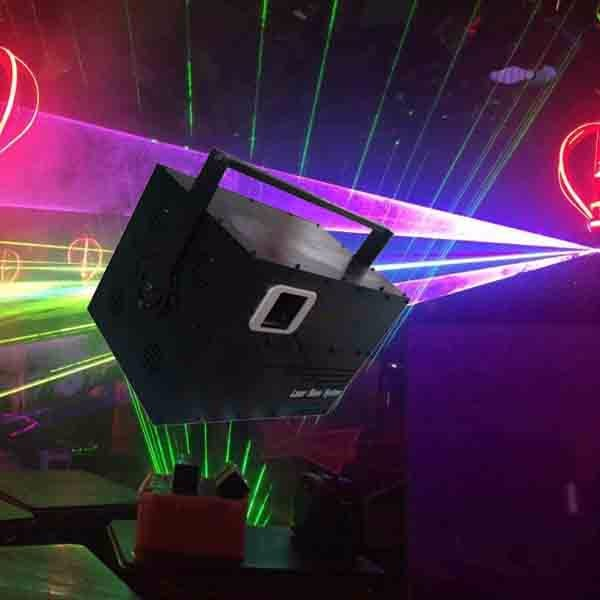 keyboard controlling RGB color laser module dj stage lighting