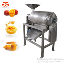 Commercial Professional Mango Pulping Extraction Production Line Machines Tomato Banana Mango Juice Processing Machine for Sale