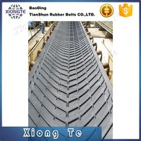 Cleated Rough Top Supplier Rubber Chevron Conveyor Belt