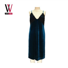 Women's v neck sexy sundress